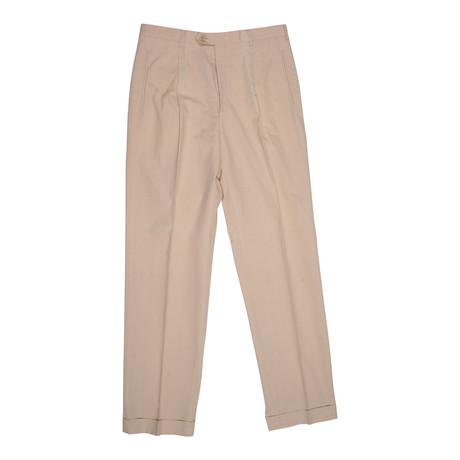 Cotton Dress Pants // Light Beige (Euro: 46)