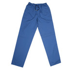 Luxurious Casual Draw String Pants // Blue (34)