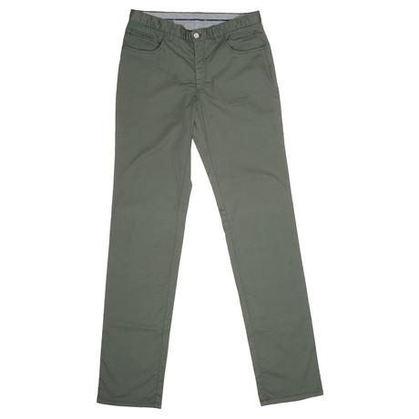 5 Pocket Pants // Green (28)