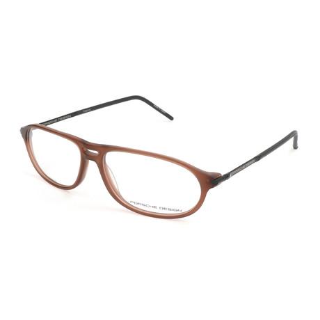 Porsche Design // Men's Bruchsal Optical Frames // Brown