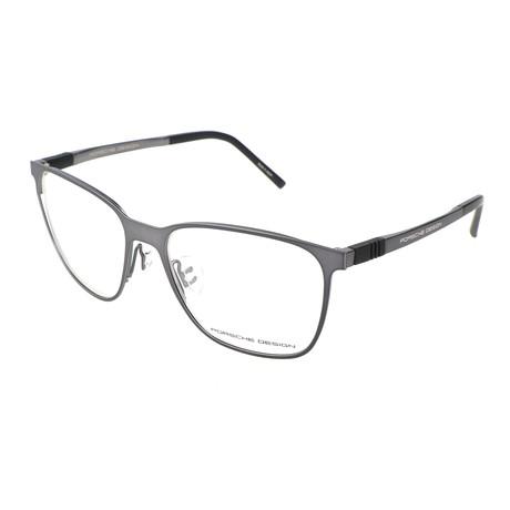 Men's P8275 Optical Frames // Dark Gunmetal