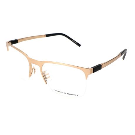Men's P8277 Optical Frames // Light Gold