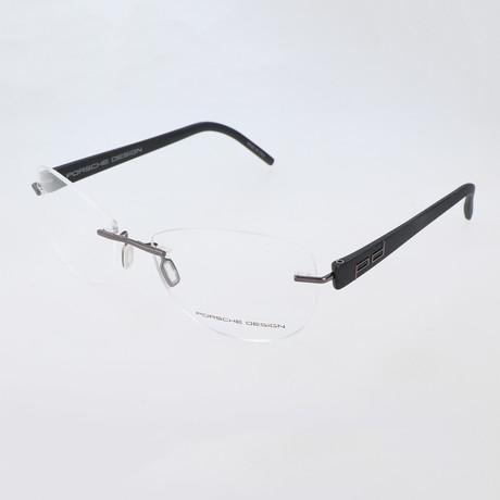 Men's P8209 Optical Frames // Gunmetal
