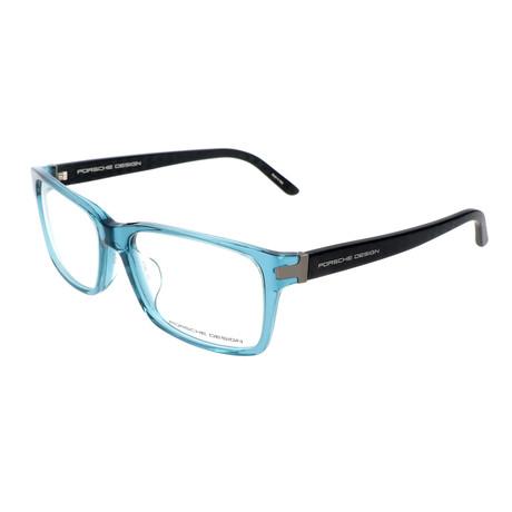 Men's P8249 Frames // Aqua + Black