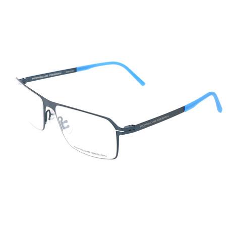 Men's P8255 Optical Frames // Dark Blue