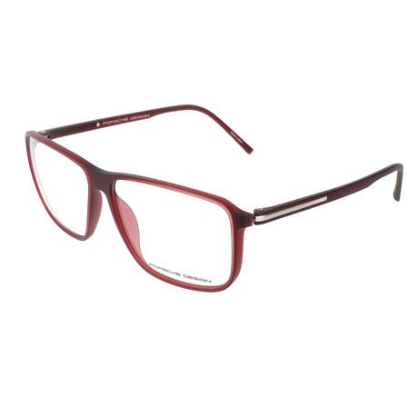 Men's P8269 Frames // Red