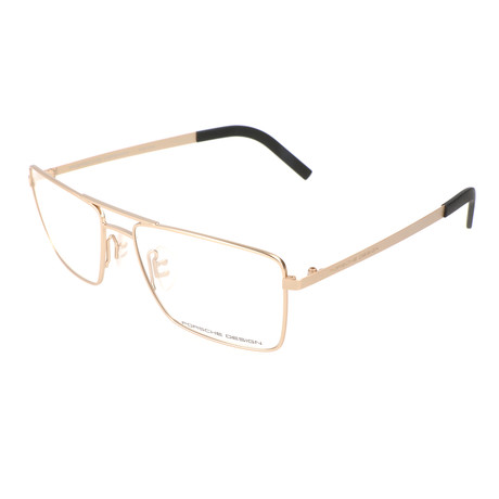 Men's P8281 Optical Frames // Light Gold