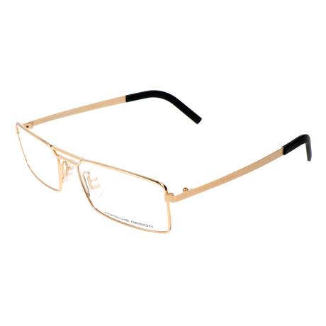 Men's P8282 Optical Frames // Gold