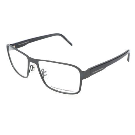 Men's P8290 Optical Frames // Dark Gray