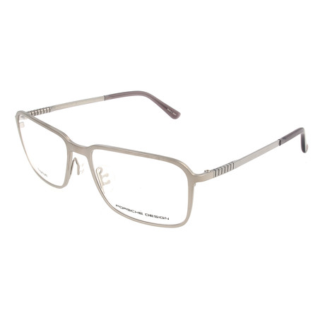 Men's P8293 Optical Frames // Silver