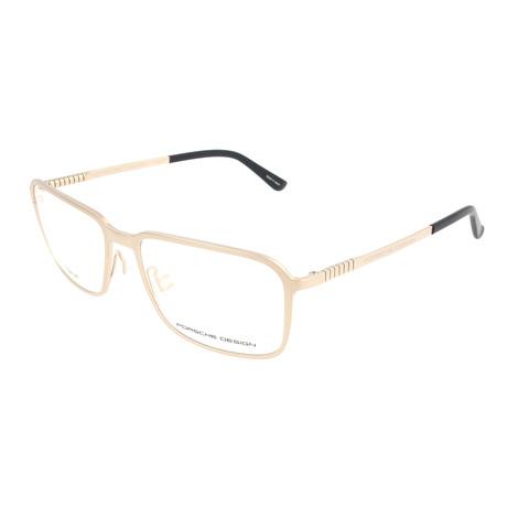 Men's P8293 Optical Frames // Light Gold