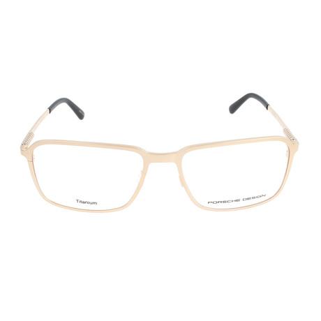 Men's P8293 Frames // Light Gold