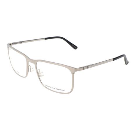 Men's P8294 Optical Frames // Silver