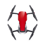 Mavic Air Fly More Combo // Flame Red