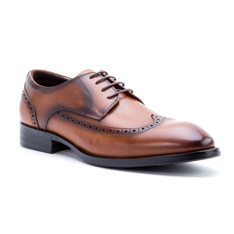 Williams Wing-Tip Derby // Cognac (US: 8)