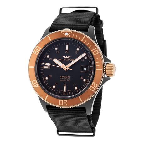 Glycine Combat Sub Golden Eye Automatic // GL0173