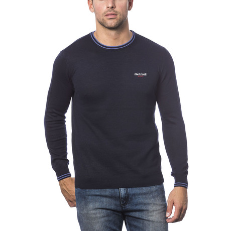 Crewneck Sweater // Navy (2XL)