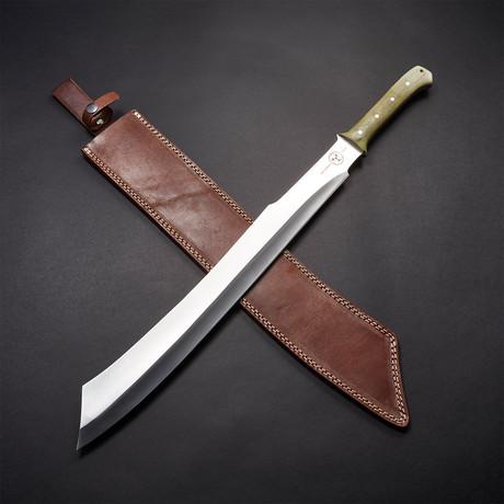 """D2 Scimitar Combat Sword // 26"""""""