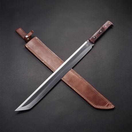"D2 Kodachi Tachi Sword // 27"""
