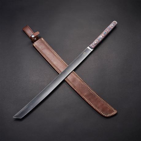 """D2 Tachi Tanto Katana Sword // 26"""""""
