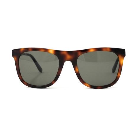 Ferragamo // Men's Squared Sunglasses // Tortoise + Brown