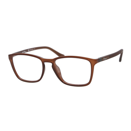 Ferragamo // Men's SF2723 Optical Frames // Brown