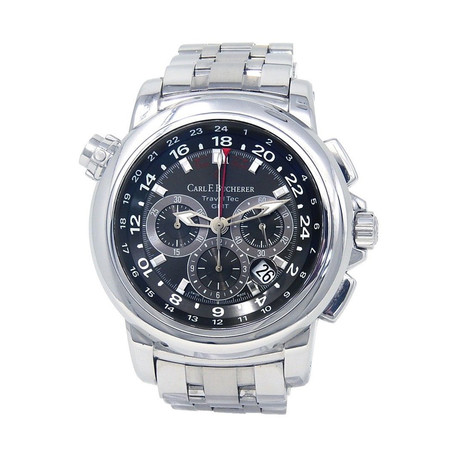 Carl F. Bucherer Patravi TravelTec Chronograph Automatic // 0010620083321 // Pre-Owned
