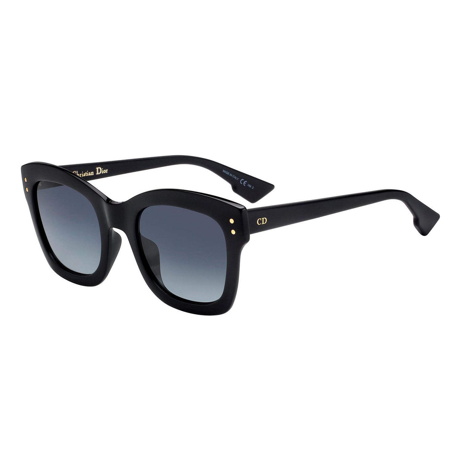 6841b8eeb7c9 8581b8d4a54d71e690c3a3d1f26e3950 medium · Dior DIORIZON 2 Sunglasses     Black Frames + Grey Gradient Lenses