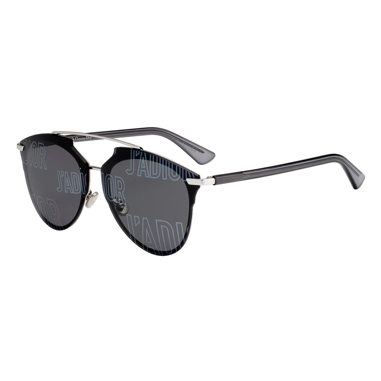 4e3cc43ed20d 808db9bde0a8fa4ffc768467ef2f9363 medium · Dior REFLECTED Sunglasses    Black  + Silver Frames ...