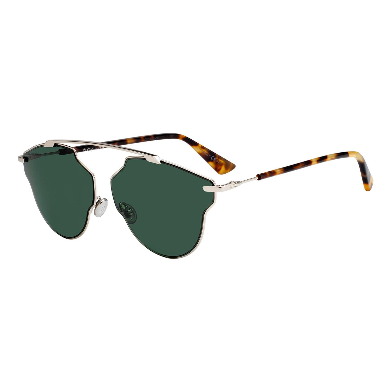 1cafbbd1a9f7d Christian Dior So Real black   havana sunglasses Source · Dior SO REAL POP  Sunglasses Light Gold Havana Frames Green