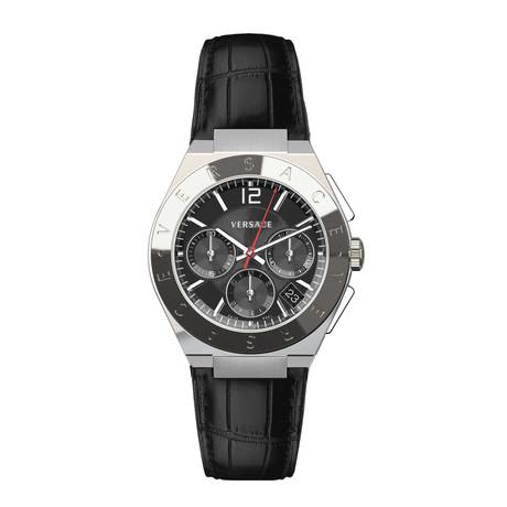 Versace Landmark Round Chronograph Swiss Quartz // VEWO00118