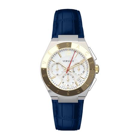 Versace Landmark Round Chronograph Swiss Quartz // VEWO00218