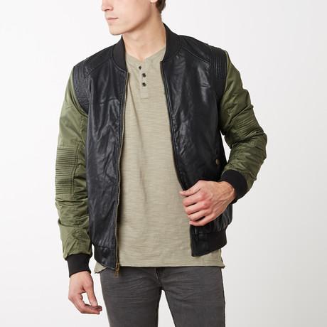 Kenny Vegan Leather Jacket // Black (S)