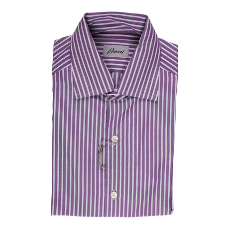 Bernard Dress Shirt // Purple (US: 39)
