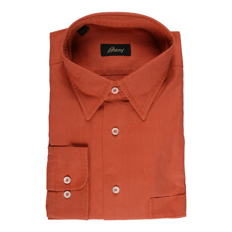 Clarence Dress Shirt // Orange (39)