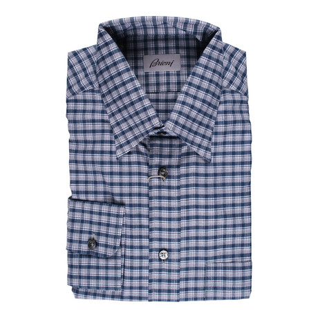 Brioni // Norman Dress Shirt // Multicolor (Euro: 41)