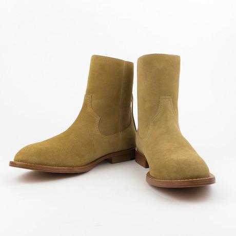 Amiri // Zion Shane Suede Boots // Tan (US: 6)