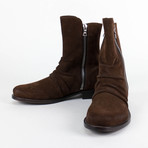 Amiri // Stack Suede Boots // Brown (US: 8.5)