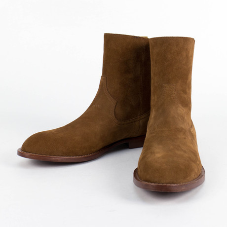 Amiri // Malik Shane Suede Boot // Brown (US: 6)