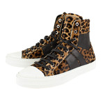 Amiri // Kayd Sunset Hi-Top Sneakers // Leopard + Black (US: 6)