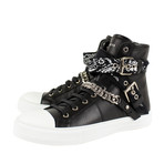 Amiri // Sunset Bandana Hi-Top Sneakers // Black (US: 6)