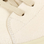 Rick Owens // Geothrasher High Natural Sneakers // White (US: 7)