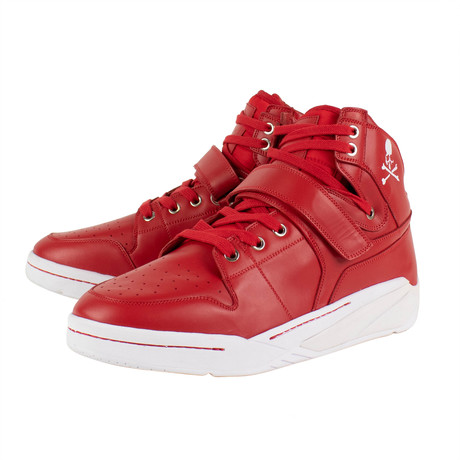 Mastermind // Searchndesign MMJ Basket Sneakers // Red (US: 6)