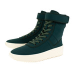 Fear Of God // Military Sneaker Hi-Top Sneakers // Green (US: 6)