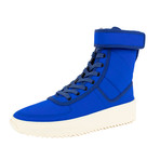 Fear Of God // Military Sneaker Hi-Top Sneakers // Blue (US: 7)