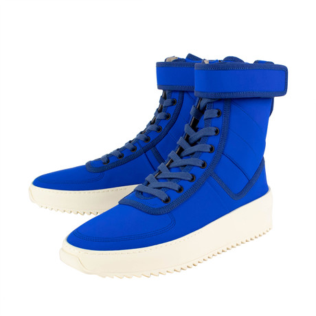 Fear Of God // Military Sneaker Hi-Top Sneakers // Blue (US: 6)