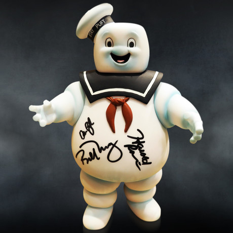 Ghostbusters Stay Puft // Cast Signed Bank