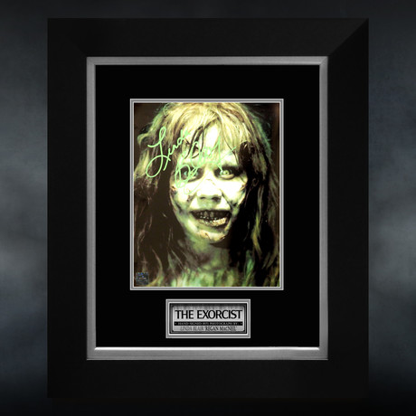 Exorcist // Linda Blair Signed Photo // Custom Frame