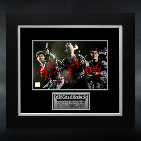 Ghostbusters // Cast Signed Photo // Custom Frame
