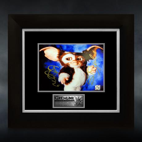 Gremlins // Howie Mandel + Steven Spielberg Signed Photo // Custom Frame